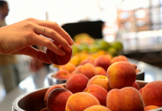 local peaches