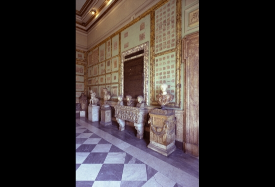 View of Penultimate Room, Capitoline Museum, Rome