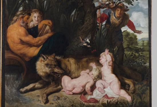 Peter Paul Rubens, Romulus and Remus, Capitoline Museum