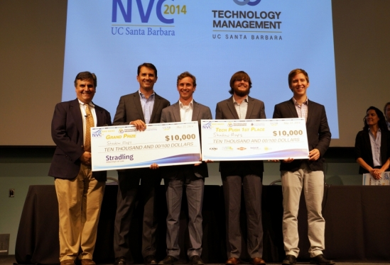 photo of grand prize and Tech Push Award winner