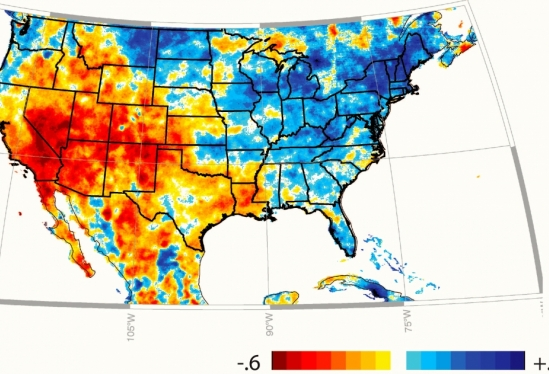 The State Of Rain The UCSB Current - Us map rainfall
