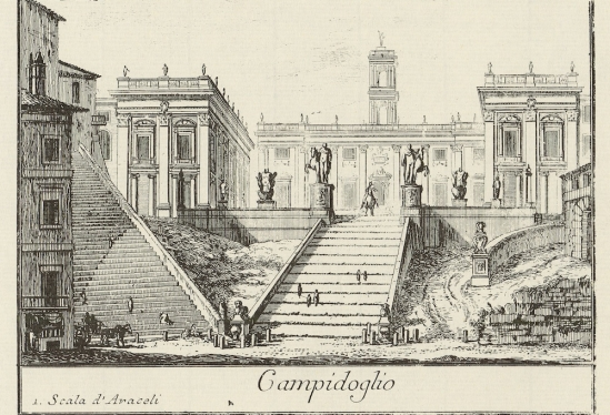 View of the Campidoglio