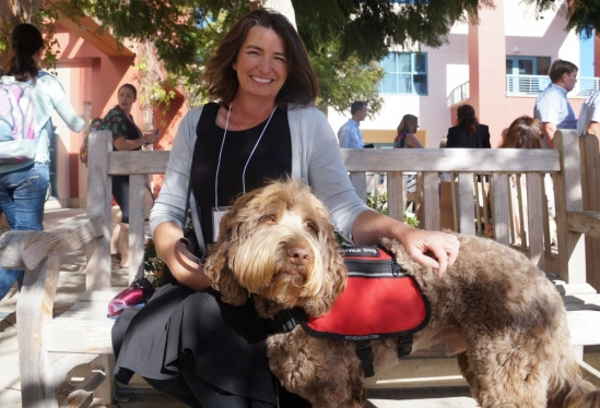 autism therapy dog and handler