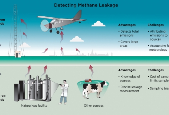 Methods for detecting natural gas emissions