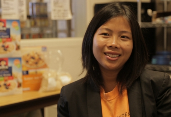 UCSB AS Food Bank Coordinator Tuyen Nguyen