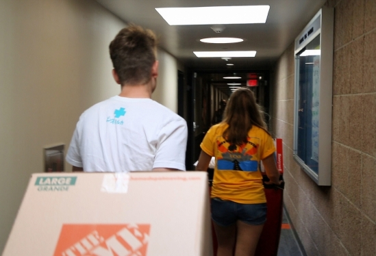 Freshman Summer Start Move-in