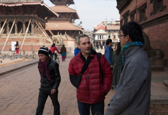 Greg Mitchell in Nepal