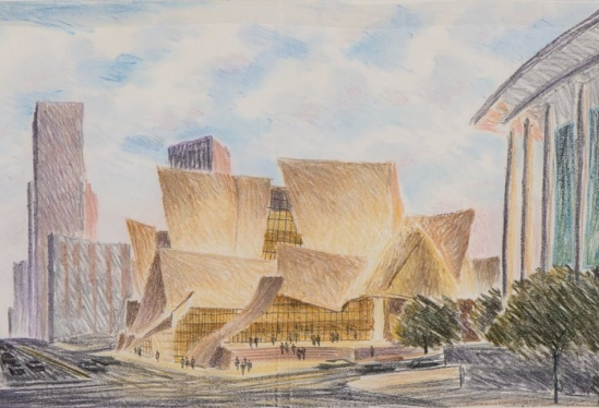 Carlos Diniz, Walt Disney Hall