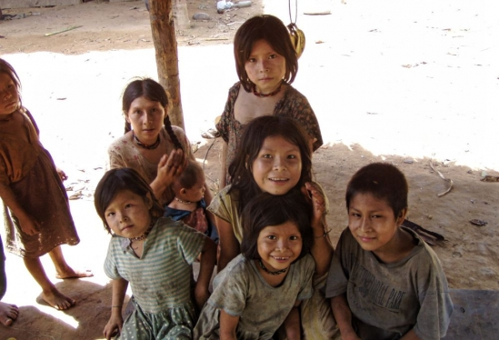 Tsimane children