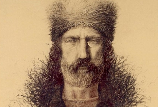 Hugh Glass sketch
