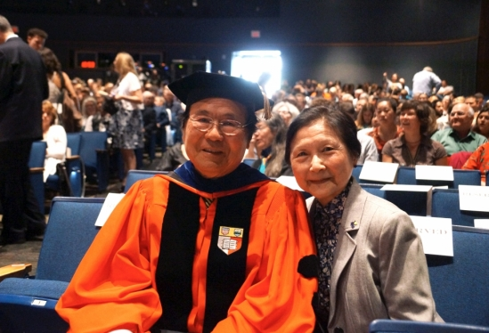 Chancellor Henry and Dilling Yang