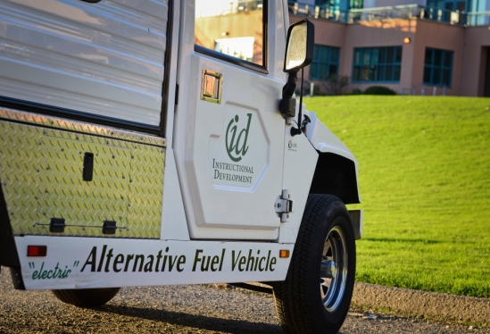 UCSB alternative fuel vehicle