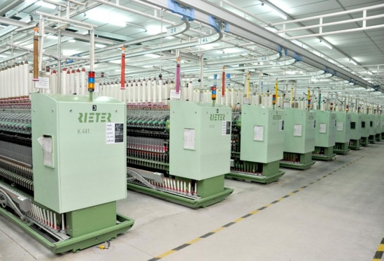 Indian textile mill