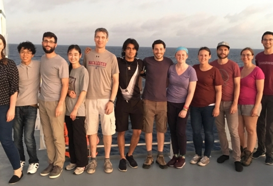 The Pacific ORCA science team