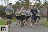 UCSB ROTC training