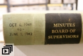 SB County Board of Supervisors minutes book